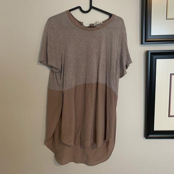 Wilfred Half Silk/Half Cotton Shirt - M